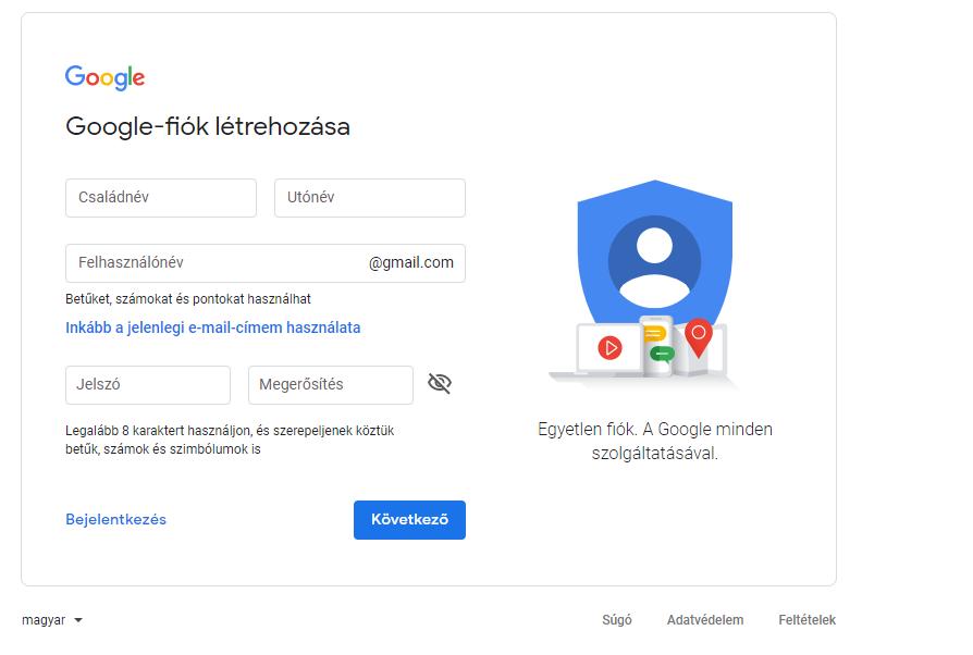 Gmail bejelentkezés másik fiókkal
