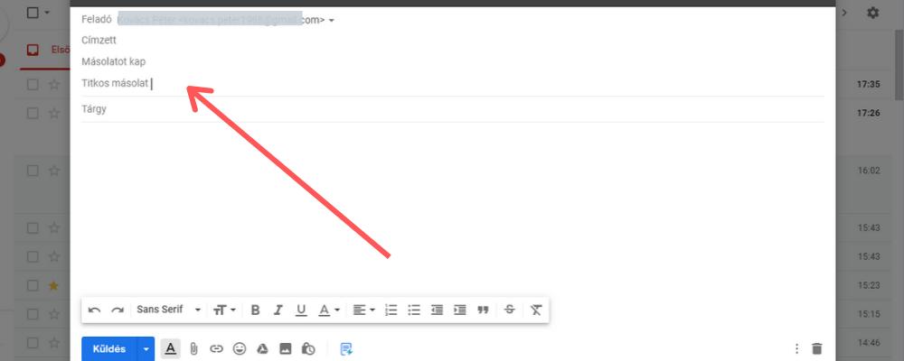 Gmail tippek:csoportos levélküldés