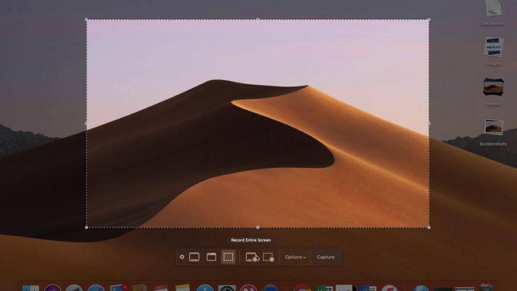 Képernyőfotó készítése MAC-en