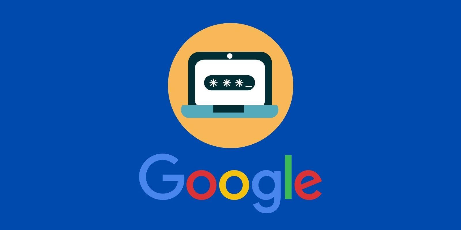 Google jelszavak