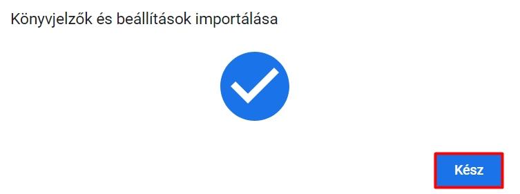 Hogyan lehet jelszavakat importálni a Chrome-ba?