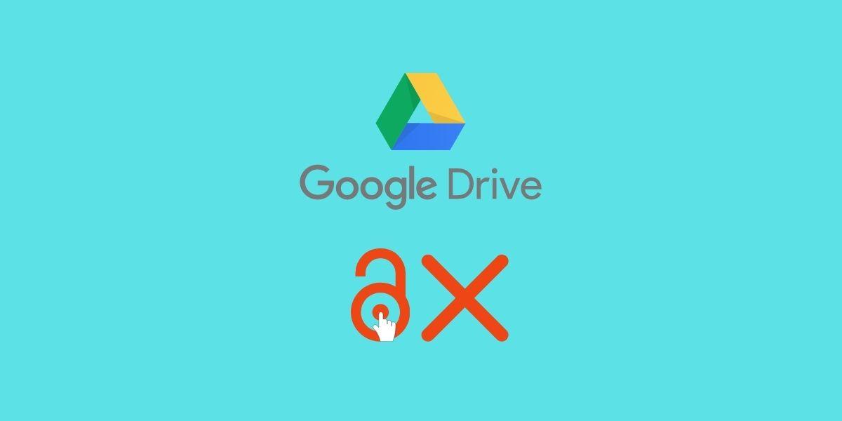 Google Drive hozzáférés megtagadva
