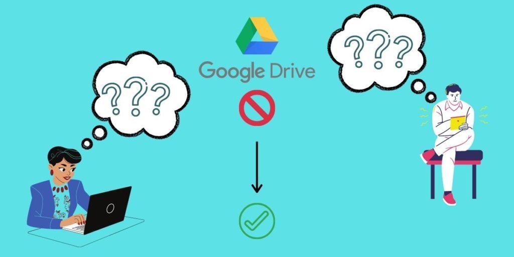 Mit lehet tenni a Google Drive hozzáférés megtagadva üzenettel?