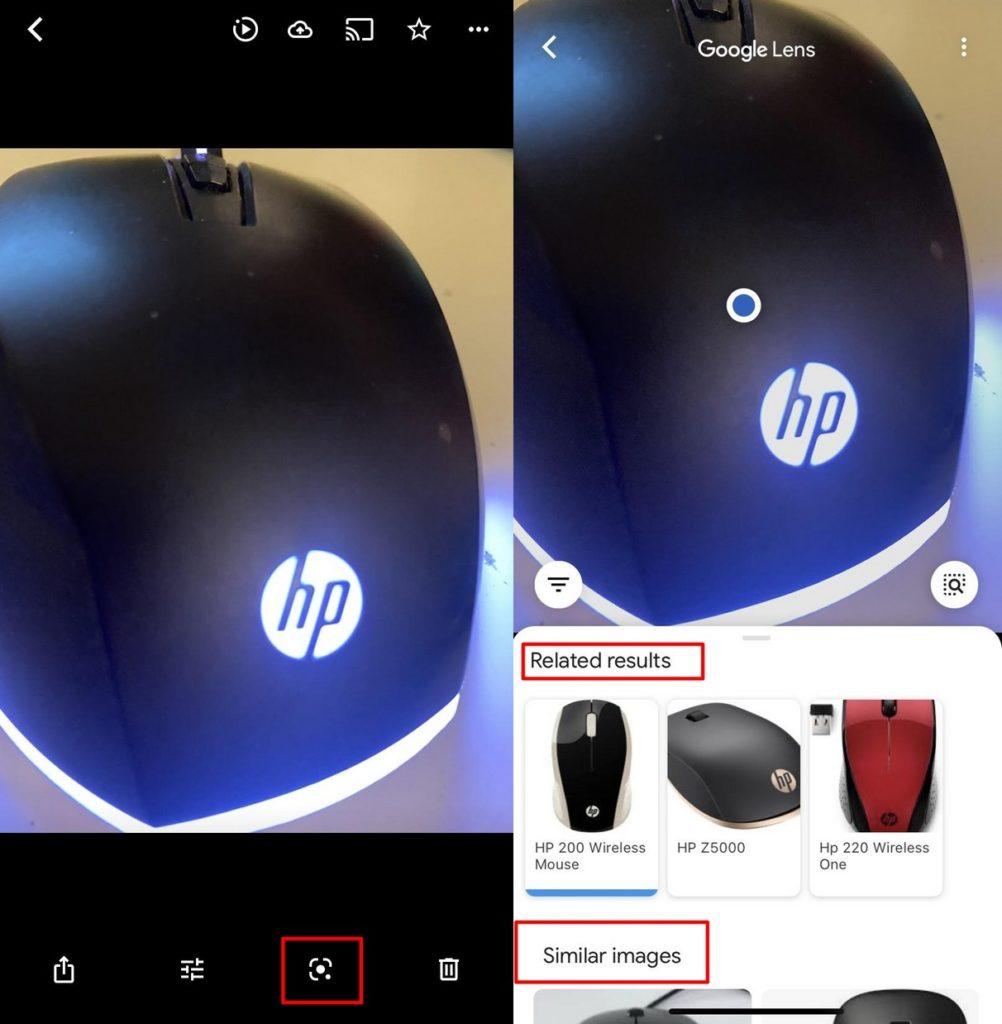 A Google Lens használata